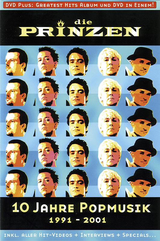 Cover: 10 Jahre Popmusik Seite A